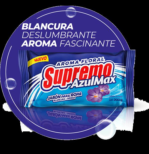 Jabón Supremo AzulMax