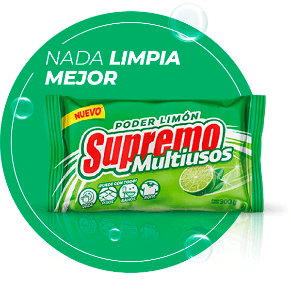 Jabón Supremo Multiusos